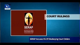 SERAP Drags FG To UN Over El-Zakzaky, Dasuki Pt.1 |News@10| 13/05/18