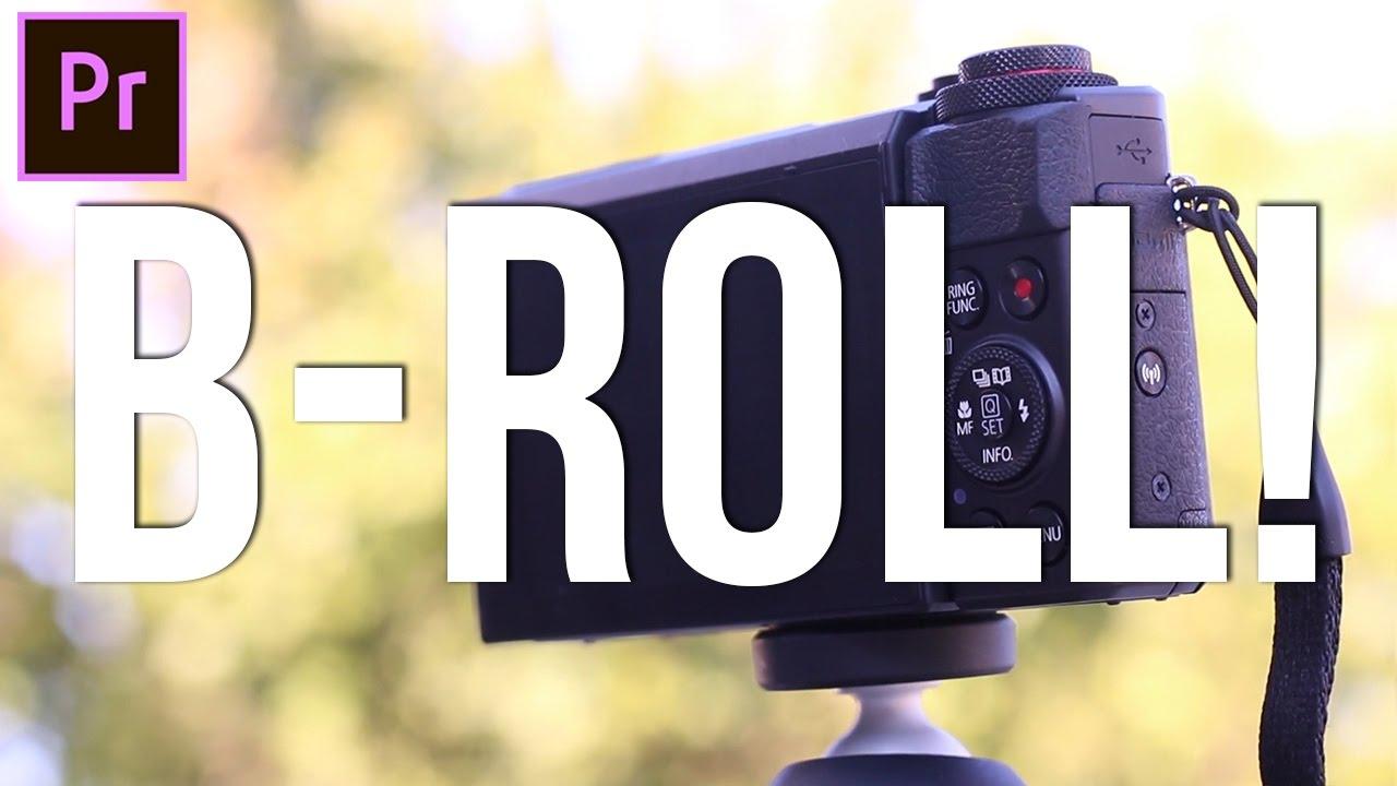 How to EDIT & CUT B-Roll Footage! (Adobe Premiere Pro CC 2017 Tutorial)