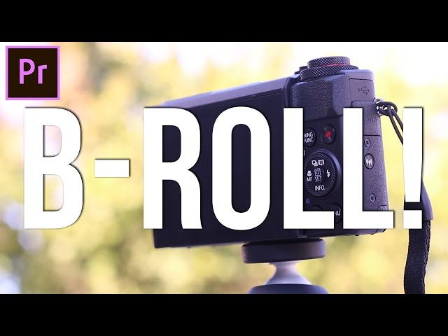 How to EDIT & CUT B-Roll Footage! (Adobe Premiere Pro CC 2017 Tutorial)
