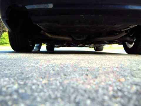 2010 Hyundai Genesis 4.6 muffler delete