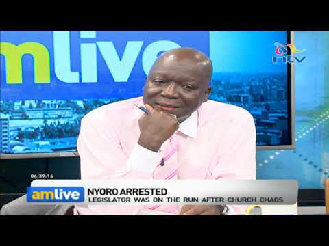 Ndindi Nyoro being ruled by the same fist he called for from Uhuru - Jakoyo Midiwo