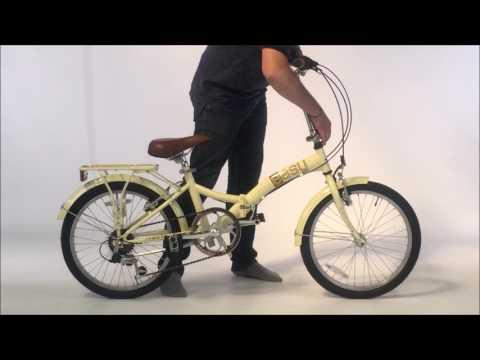 Mbm Easy 20 Bicyclette V/élo Pliant Folding Bike Noir//Argent