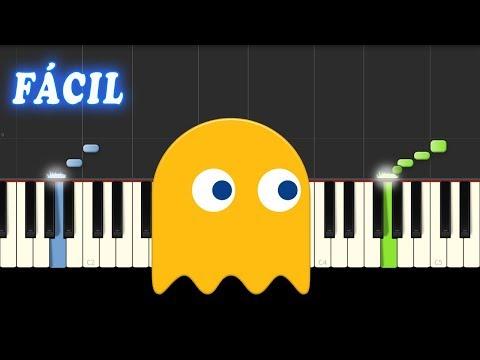 Pac Man - Theme - FACIL - Piano Tutorial - Notas Musicales