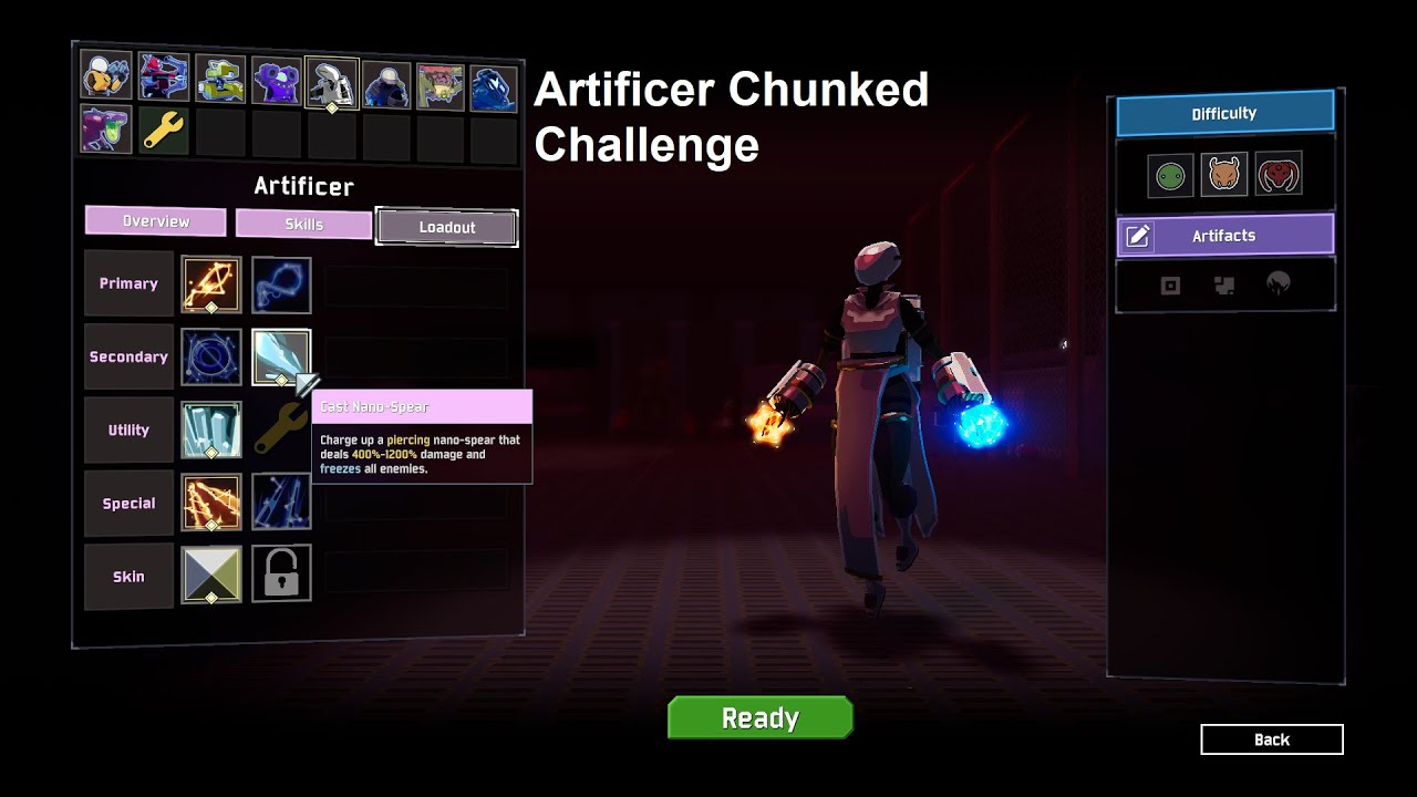 ROR2: Artificer Chunked Challenge Tutorial