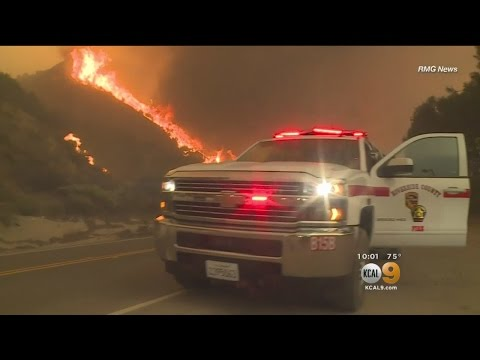 Sand Fire Scorches More Than 35,000 Acres