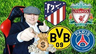 Атлетико Мадрид Ливерпуль Боруссия ПСЖ Лига Чемпионов Прогнозы на футбол 18 02