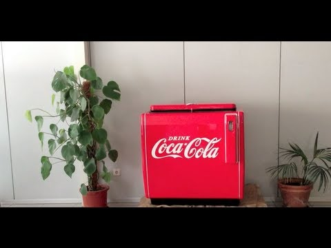 Nevera coca cola youtube - Nevera coca cola retro ...