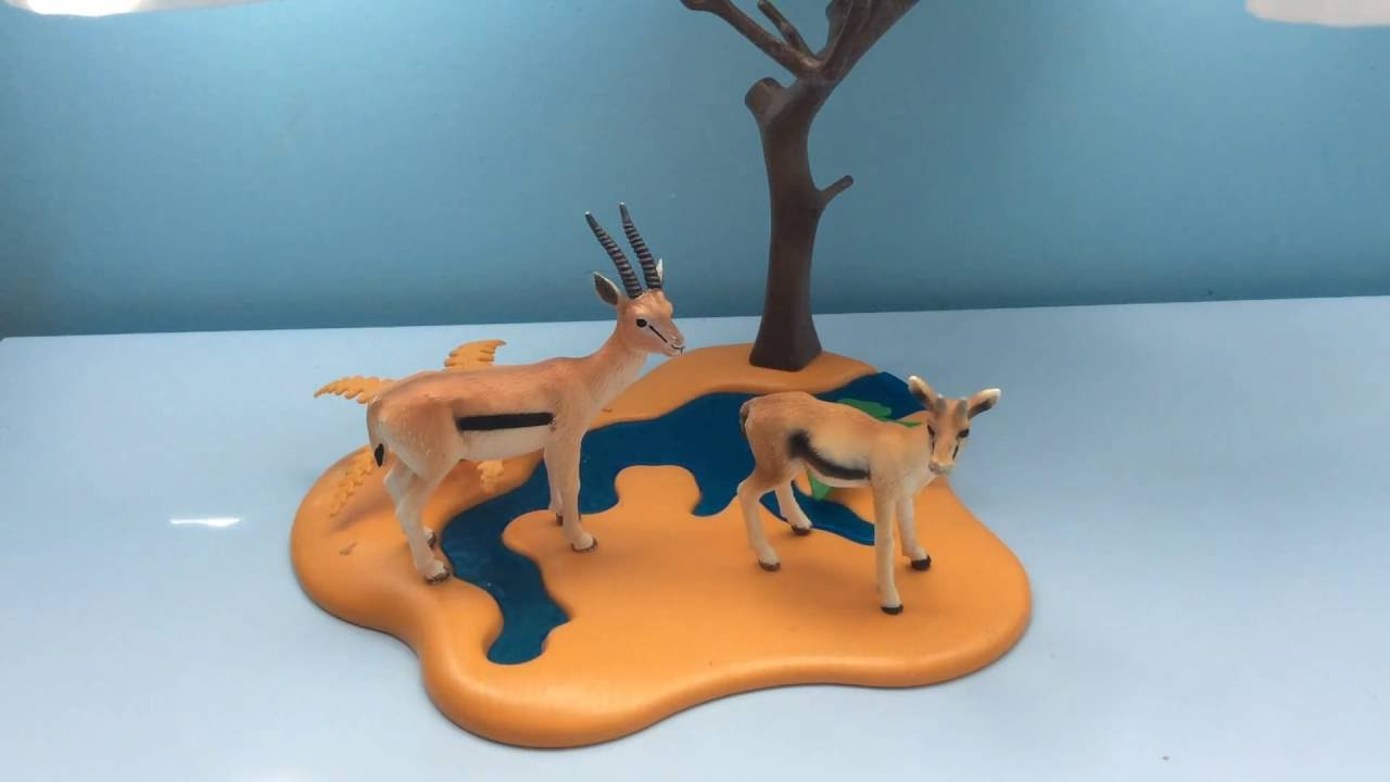 COMPARING SCHLEICH'S GAZELLE AND MOJO'S GAZELLE - Schleich WildLife and Mojo WildLife