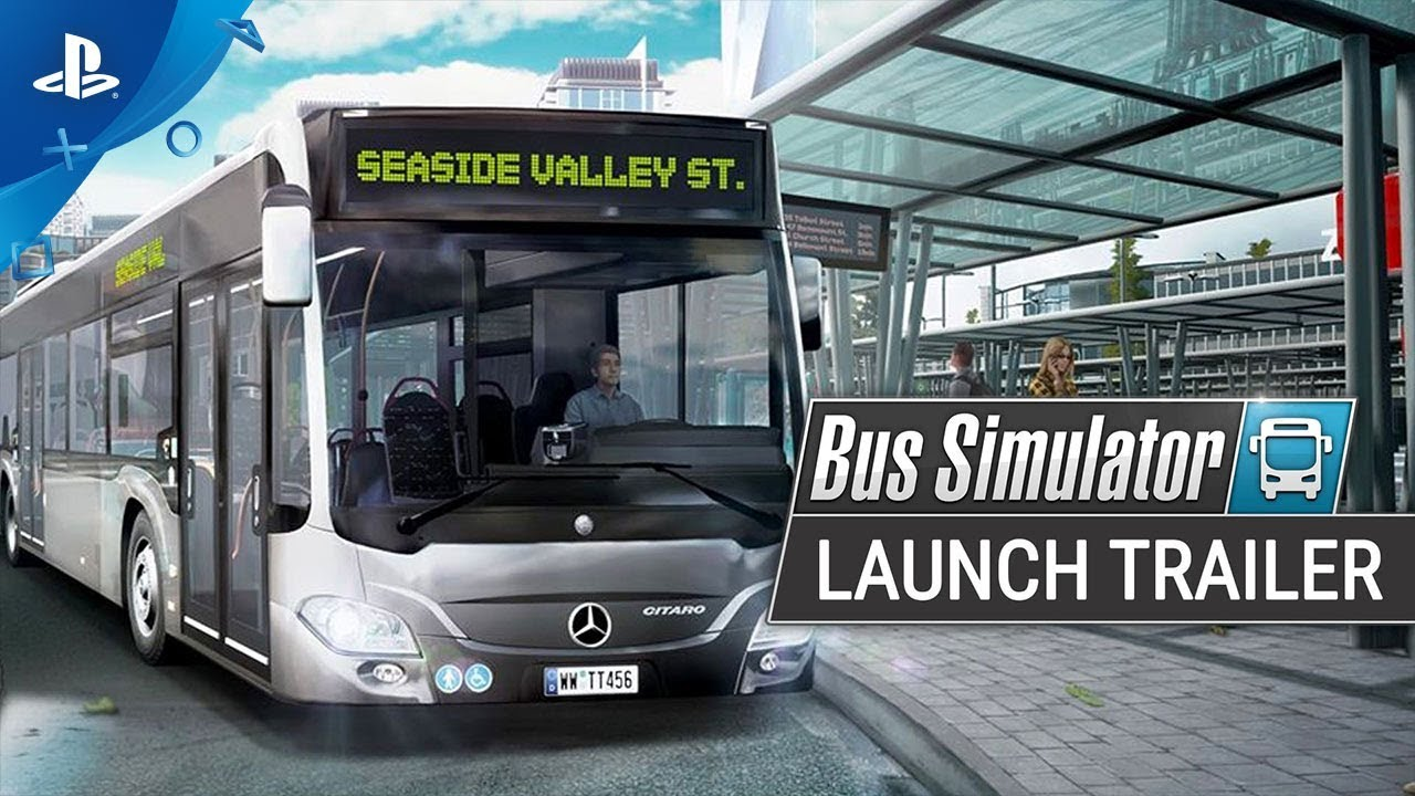 Bus Simulator | Launch Trailer | PS4 - YouTube
