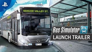 Bus Simulator | Launch Trailer | PS4
