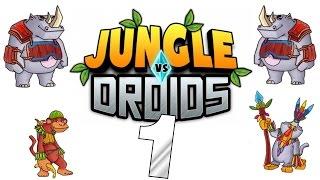 [Let's Play] Jungle VS Droids HD - In den Dschungel!