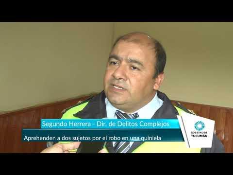 Aprehenden a dos sujetos por el robo en una quiniela - Tucumán Gobierno