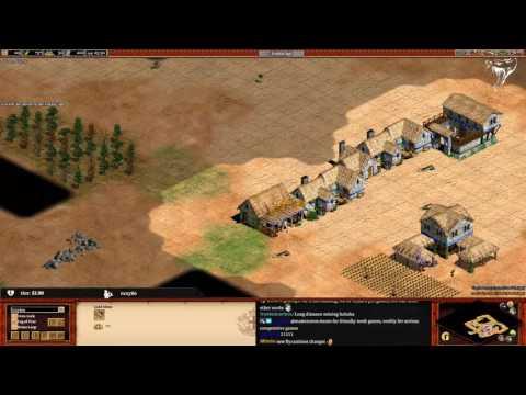 Age of Empires 2 - Best Build Order! | Gaylon vs Carlini