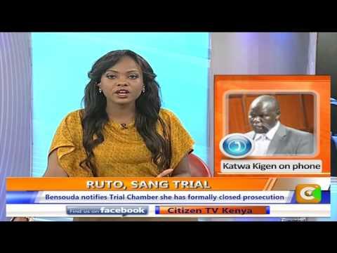 Katwa Kigen on Ruto, Sang Trial