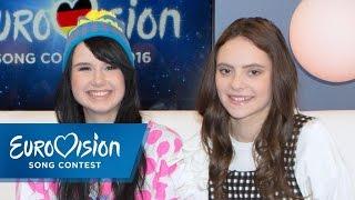 Francesca Michielin meets Jamie-Lee | Eurovision Song Contest | NDR