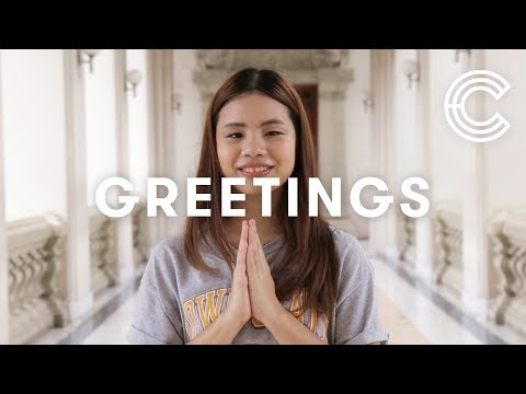 Greetings Around the World | Cut