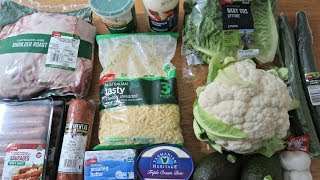 Low Carb Grocery Shopping Haul | 7 Day Keto Diet Meal Plan