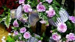 Эксклюзивные ритуальные венки - Похоронный Дом ХЭЛП(Полный каталог ритуальных товаров доступен на сайте - http://www.ritualhelp.ru/ Венок -- один из основных видов ритуальн..., 2012-12-10T05:21:31.000Z)