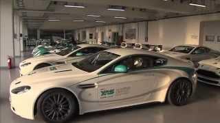 Aston Martin  Vantage GT4 2011 Videos