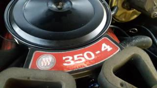 1972 Buick GS grand sport start up engine and full tour