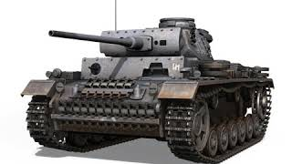 3D Model of PzKpfw III - Panzer 3 - Ausf.M - 513 Review