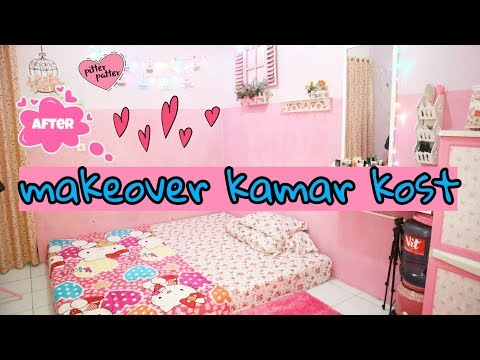 Makeover Kamar Tidur Sederhana  makeover kamar kost kontrakan youtube