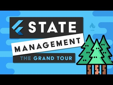 Flutter State Management - The Grand Tour