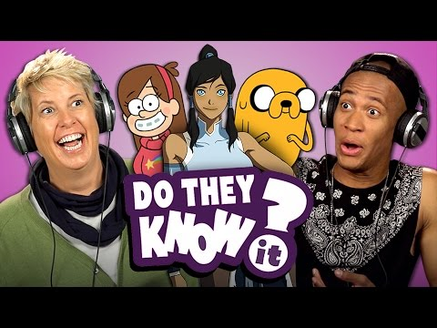Thumbnail: DO ADULTS KNOW MODERN CARTOONS? (REACT: Do They Know It?)