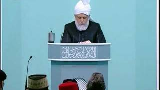 Sindhi Friday Sermon 5 Nov 2010, Spending in the way of God, Islam Ahmadiyyat