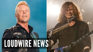 James Hetfield Reached Out to Dave Mustaine in Cancer Battle