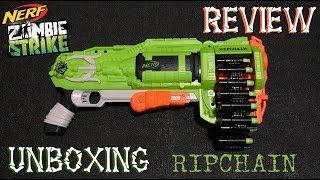 รีวิวเนิร์ฟ Review Nerf Ep.45 Nerf ZOMBIE strike Ripchain มันคือปืนสงคราม