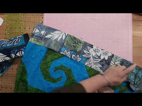 Stars & Swirls Summer 2020 Quilt Along - #6 Border