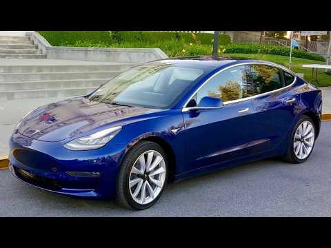 Tesla Model 3 - Compilation of Photos sorted by camera angle (no video) - 360° view