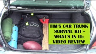 Car Survival Kit / Car Emergency Trunk Kit