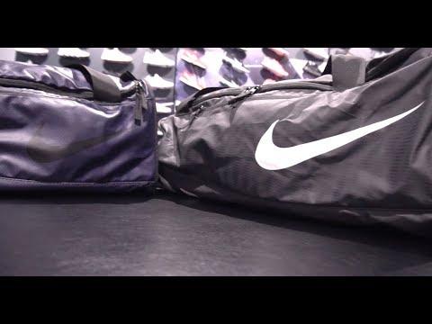 Velas Untado Enemistarse  Nike Alph Adpt Crssbdy Dffl-M обзор 2018 - YouTube