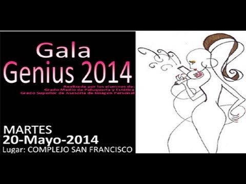 GALA GENIUS 2014  CARLOS TELLO