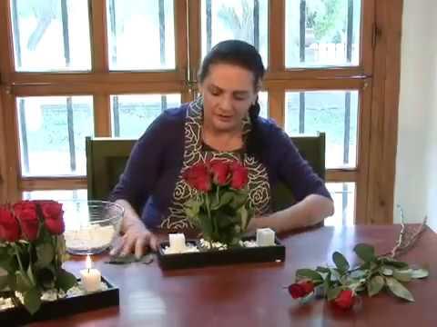 Como hacer un arreglo rosas con velas youtube - Arreglos con velas ...
