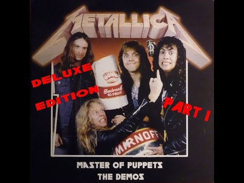 Metallica - Master of Puppets Riff Tapes, Demos