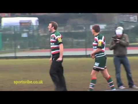 Toby Flood & Tom Croft - Drop kick challenge - Sportsvibe TV