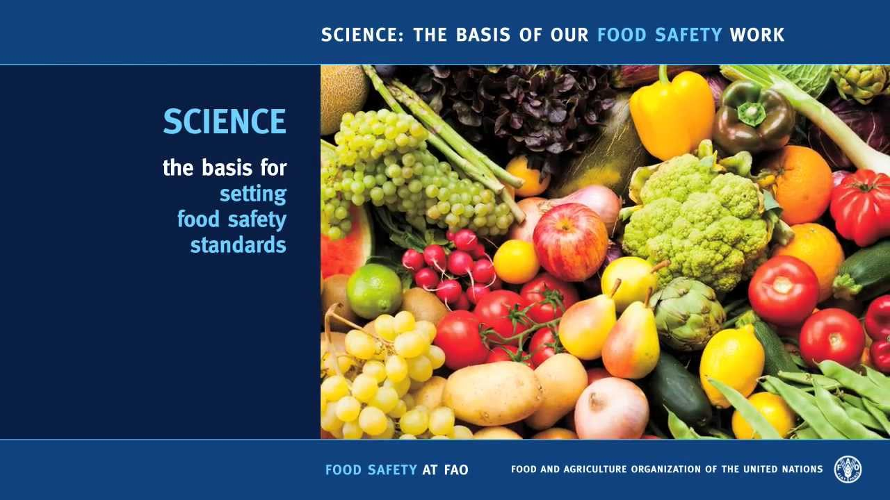 science the basis of our food safety work science the basis of our food safety work