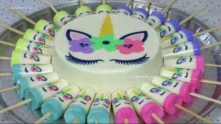 Gelapaletas Gelatina De Unicornio Para Fiestas Infantiles Recetas En Casayfamiliatv Youtube