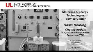 MET Basic Training: Chemisorption: Temperature-Programmed Reduction (TPR)