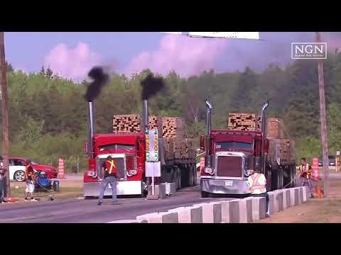 Balapan Truck  Penuh Muatan keren | Nyesel Gak Nonton