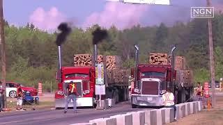 Download Video Balapan Truck  Penuh Muatan keren | Nyesel Gak Nonton MP3 3GP MP4