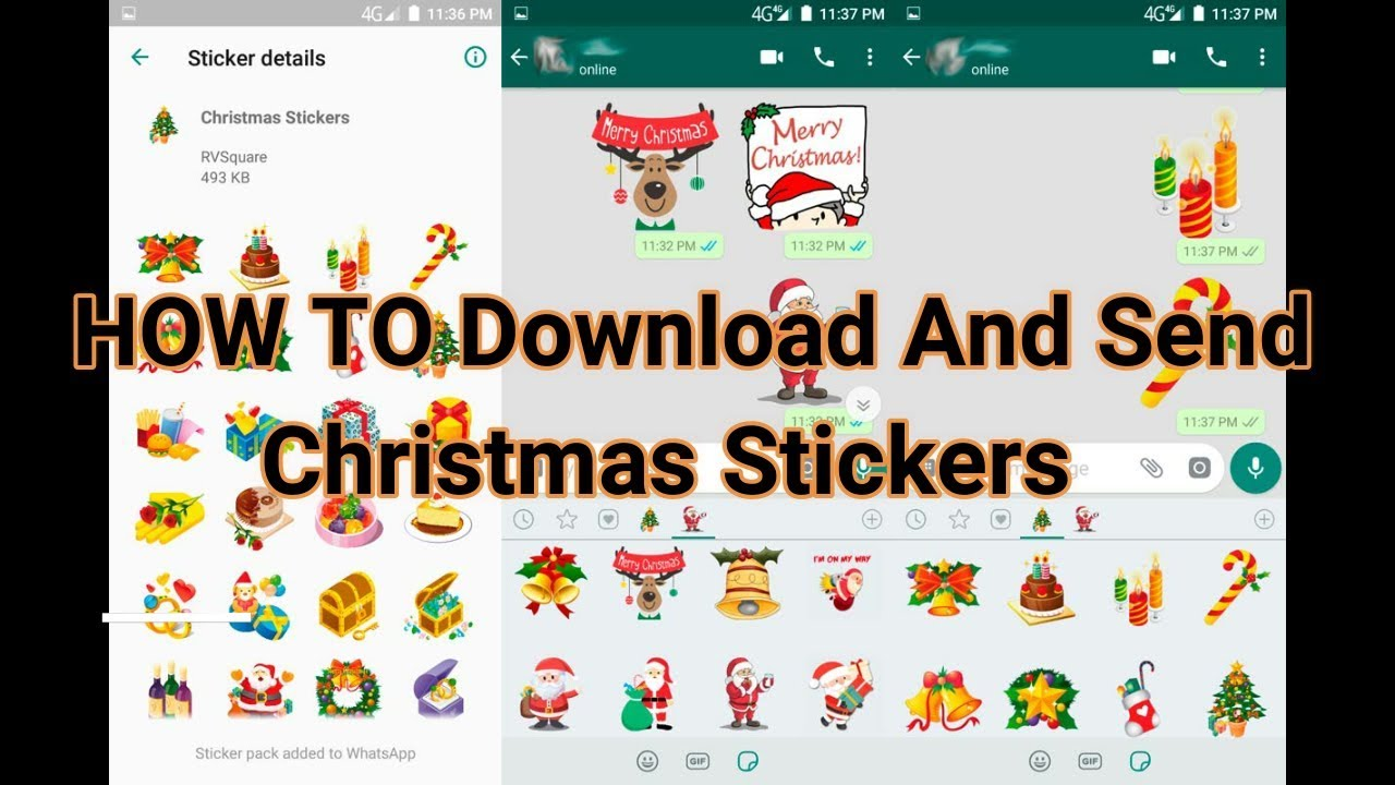 WhatsApp Adds Merry Christmas Stickers: How to Find, Share With ...