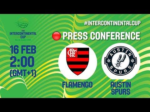 Flamengo v Austin Spurs - Press Conference