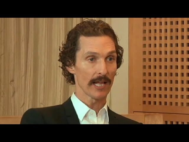 Matthew Mcconaughey Weight Loss Interview 2012 Actor Lost 1 4 Of Body Weight Youtube