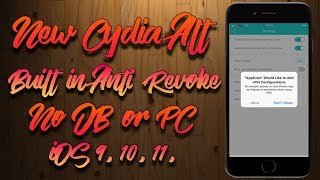 Appeven New Cydia Alt With Built in Anti-Revoke ! (No Jailbreak/PC) iOS  9,10,11 iPhone iPod & iPad by GaM3ChangeRs