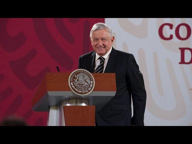 Segundo adelanto de pensiones de adultos mayores y discapacidad. Conferencia presidente AMLO