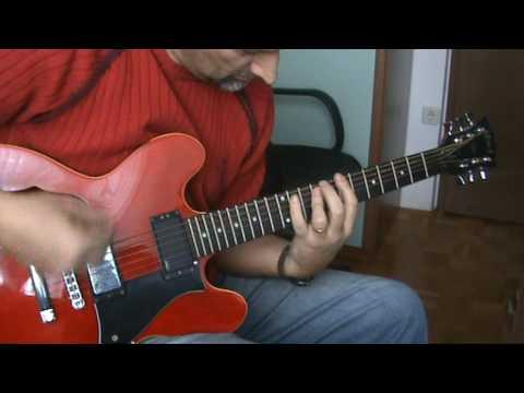 The Wanderer Status Quo Rick Parfitt Guitar Cover Youtube